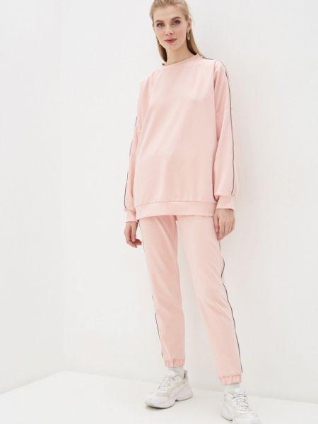 Розовый спортивный костюм Malaeva