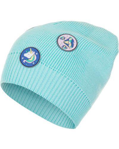Синяя шапка спортивная Satila