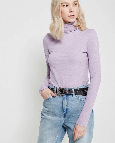 Фиолетовая водолазка Oodji