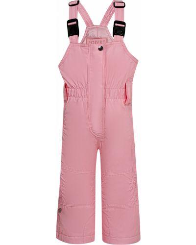Розовые брюки утепленные Poivre Blanc
