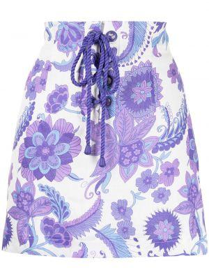 Прямая юбка - фиолетовая Alice Mccall