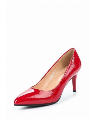 Туфли-лодочки кожаные на каблуке Zenden Woman
