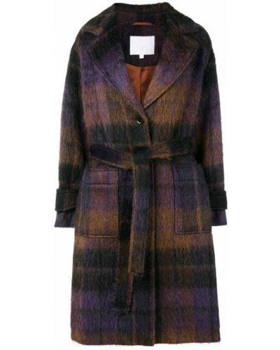 Пальто классическое с капюшоном на пуговицах Lala Berlin