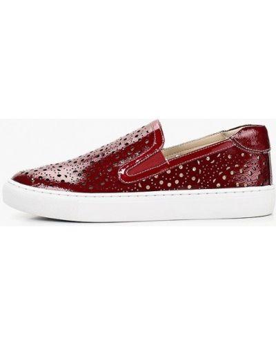 Слипоны красные M.shoes