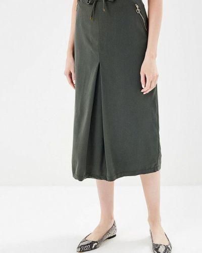 Зеленая юбка весенняя Savage