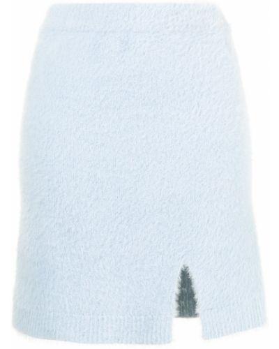Синяя юбка с разрезом Alice Mccall