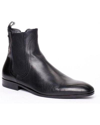 Черные сапоги Roberto Cavalli