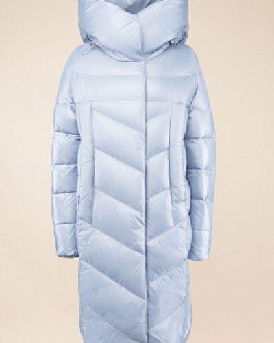 Пуховик-пальто - синий Snowimage