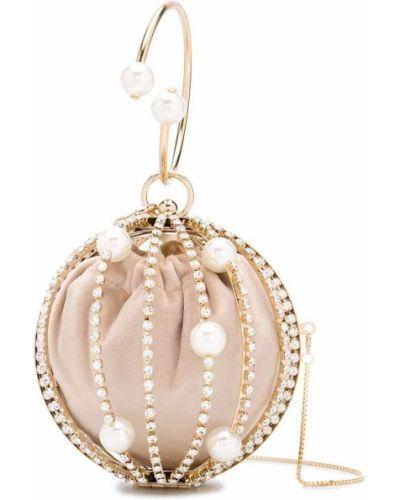 Złota kopertówka perły Rosantica