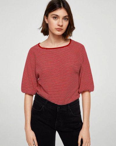 Красная футболка Mango
