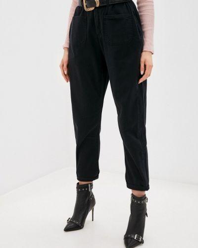 Расклешенные черные джинсы Mossmore