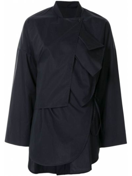 Koszula z długimi rękawami - niebieska Enfold