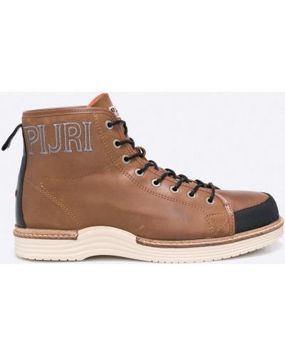 Коричневые ботинки на шнуровке Napapijri