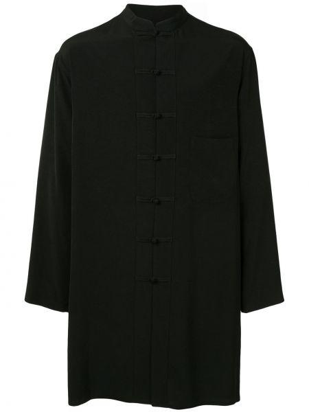 Koszula z długim rękawem wyposażone długa Yohji Yamamoto