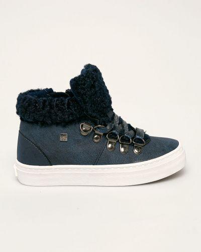 Кеды на шнуровке синие Big Star