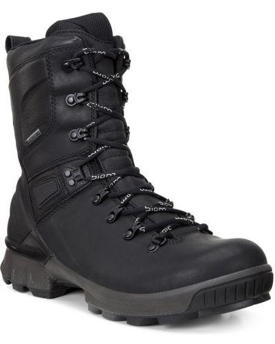 Зимние ботинки треккинговые на шнуровке Ecco