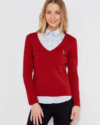 Пуловер бордовый красный Giorgio Di Mare