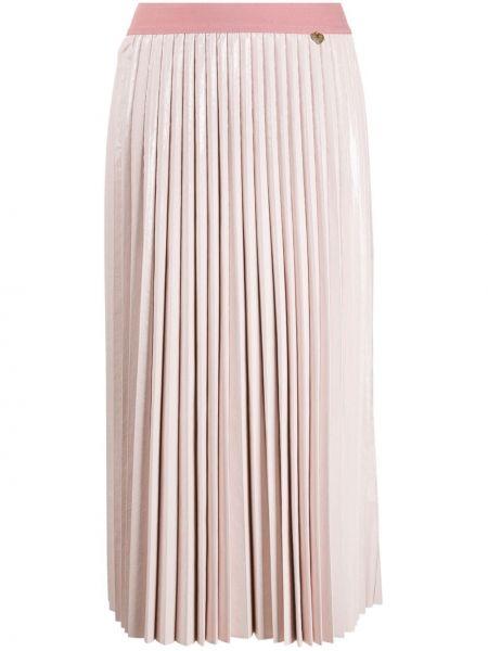 Плиссированная юбка миди с завышенной талией Twin-set