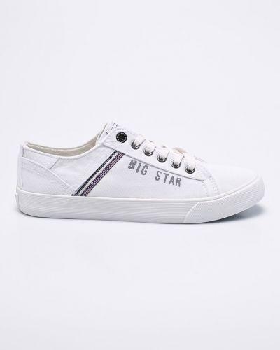 Кеды текстильные на шнуровке Big Star