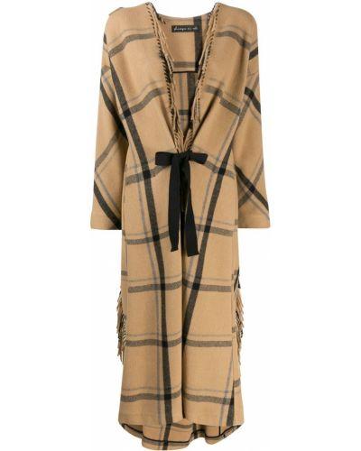 Шерстяное пальто с бахромой Phisique Du Role