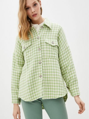 Зеленая рубашка с длинными рукавами Imocean