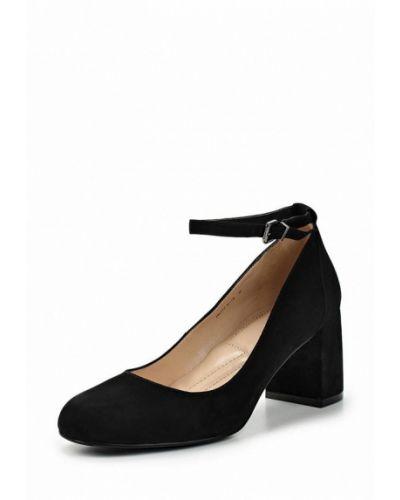 Черные туфли с застежкой на лодыжке Ekonika