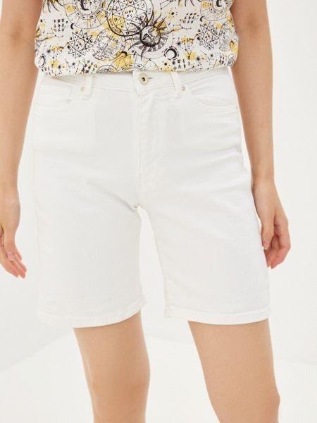Джинсовые шорты белые Only