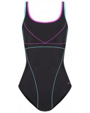 Гипоаллергенный черный спортивный купальник для бассейна с чашками Joss