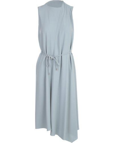 Niebieska sukienka bez rękawów Theory