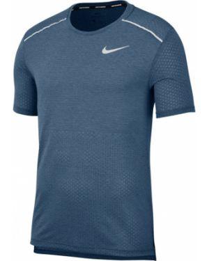 Top - niebieska Nike