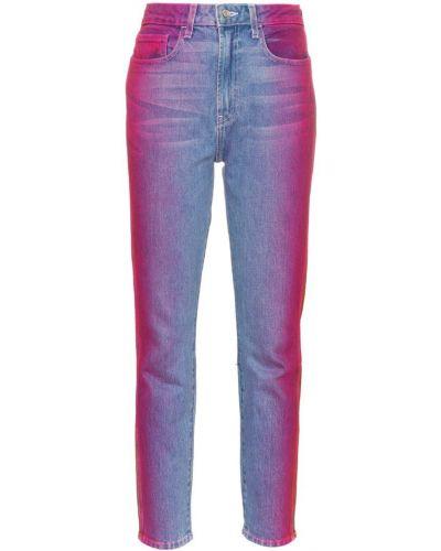 Укороченные джинсы на пуговицах в стиле бохо Jordache