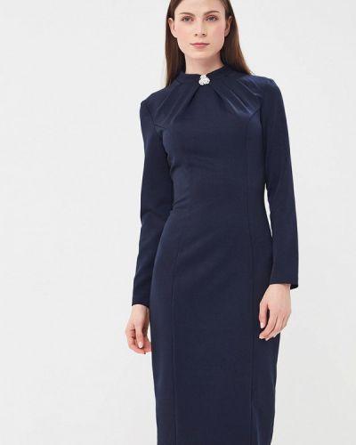 Платье весеннее синее Vittoria Vicci