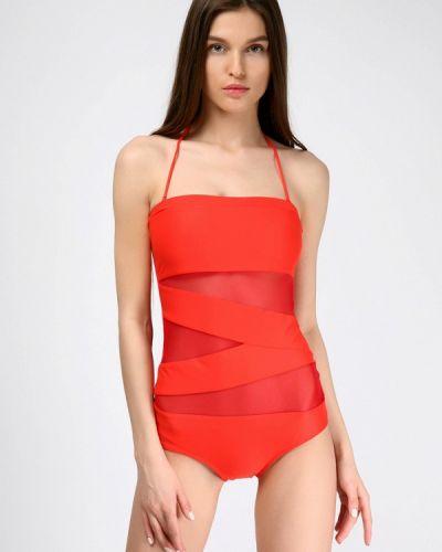 Слитный купальник красный Love's Swimwear