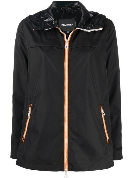 Куртка с капюшоном на молнии с карманами Duvetica
