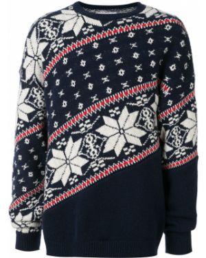 Синий свитер свободного кроя Yoshiokubo