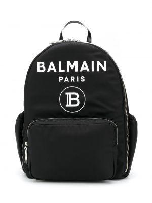 Черный рюкзак Balmain Kids