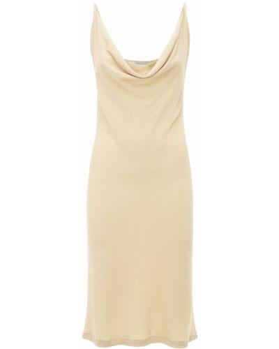 Beżowa sukienka Underprotection