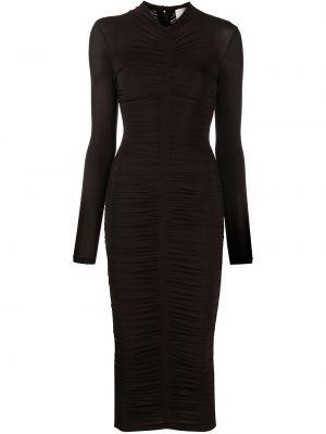 Платье макси длинное - коричневое Alc