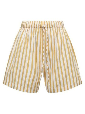 Хлопковые шорты - желтые Faithfull The Brand
