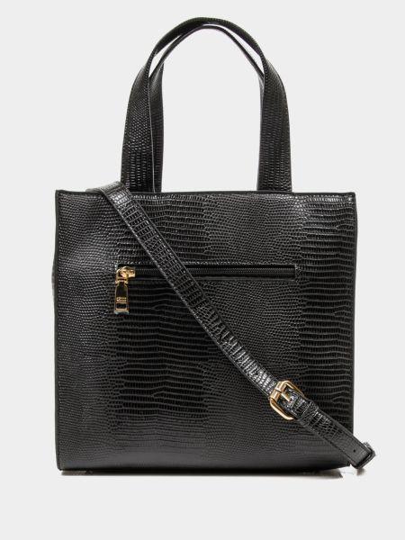 Черная сумка шоппер Keddo