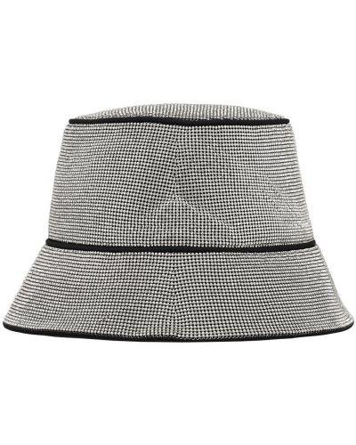 Серебряная шапка с подкладкой Kara