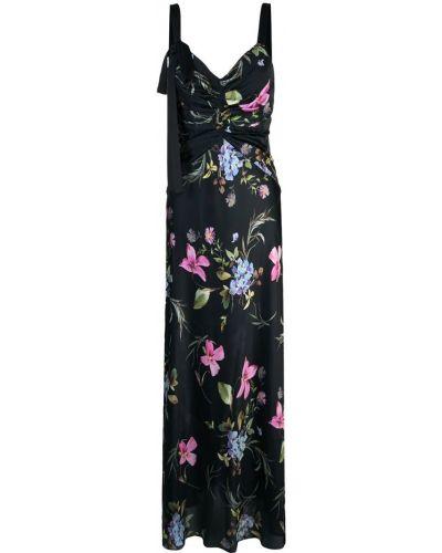 Платье с цветочным принтом со складками Jill Jill Stuart