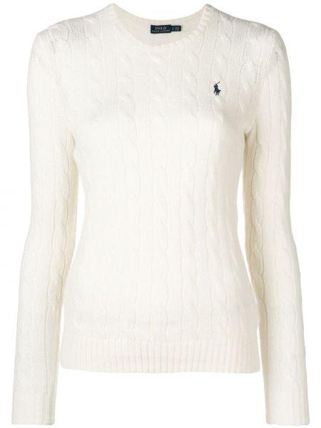 Кашемировый свитер - белый Polo Ralph Lauren