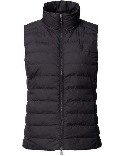 Czarna kamizelka pikowana Polo Ralph Lauren