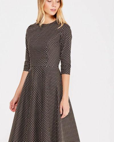 Платье осеннее черное Maison De La Robe