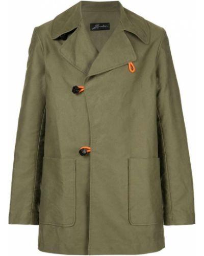 Длинное пальто зеленый Zambesi