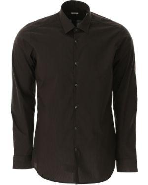 Czarna koszula bawełniana Caliban