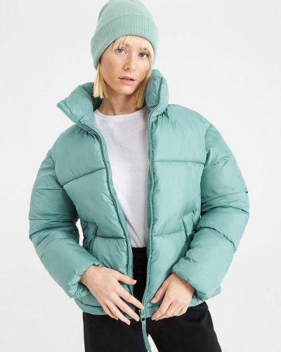 Утепленная куртка - бирюзовая Terranova