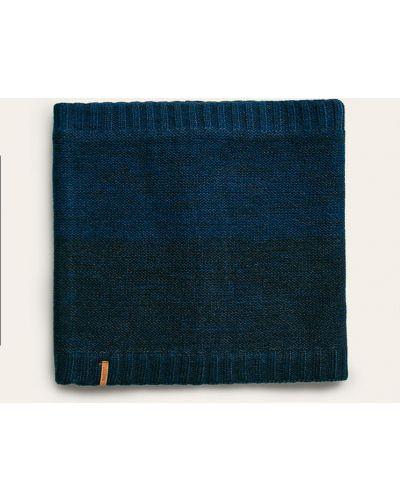 Szalik niebieski akryl Barts