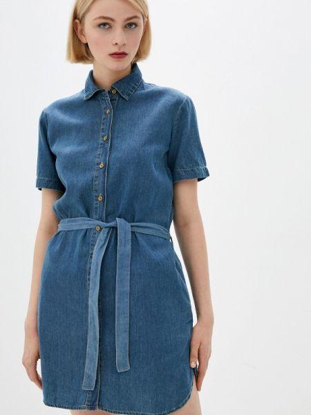 Синее джинсовое платье Colin's